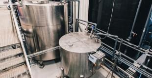 Технологическая линия приема, хранения и розлива жидкостей